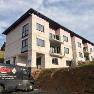 Foto Neubau Mehrfamilienhaus