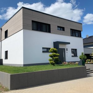 Foto Neubau Einfamilienhaus