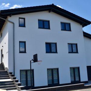 Foto Neubau Einfamilienhaus vorne links